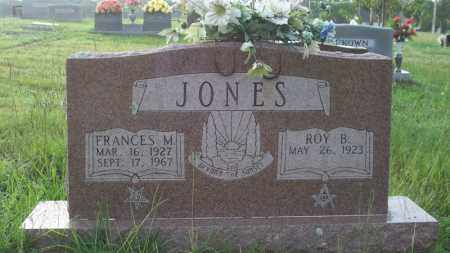 JONES, FRANCES M - Conway County, Arkansas | FRANCES M JONES - Arkansas Gravestone Photos