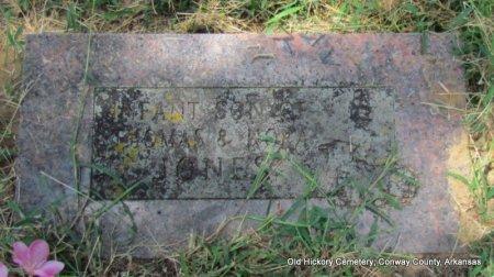 JONES, INFANT SON - Conway County, Arkansas | INFANT SON JONES - Arkansas Gravestone Photos