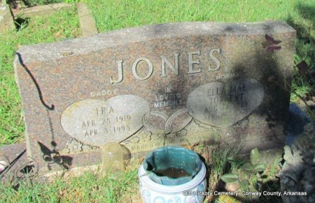 JONES, IRA - Conway County, Arkansas   IRA JONES - Arkansas Gravestone Photos