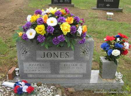 JONES, JOSEPH L - Conway County, Arkansas   JOSEPH L JONES - Arkansas Gravestone Photos