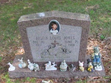 JONES, JUSTIN LOUIS - Conway County, Arkansas | JUSTIN LOUIS JONES - Arkansas Gravestone Photos