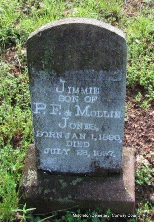 JONES, JIMMIE - Conway County, Arkansas   JIMMIE JONES - Arkansas Gravestone Photos