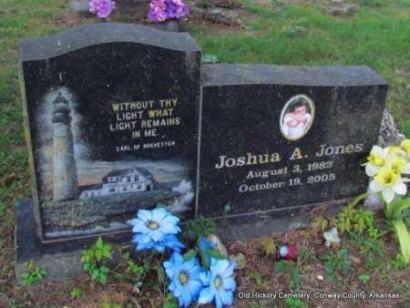 JONES, JOSHUA ADAM - Conway County, Arkansas | JOSHUA ADAM JONES - Arkansas Gravestone Photos