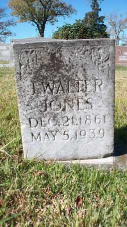JONES, J WALTER - Conway County, Arkansas | J WALTER JONES - Arkansas Gravestone Photos