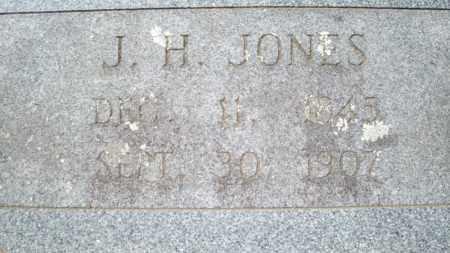 JONES, J H - Conway County, Arkansas | J H JONES - Arkansas Gravestone Photos