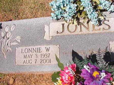 JONES, LONNIE W - Conway County, Arkansas   LONNIE W JONES - Arkansas Gravestone Photos