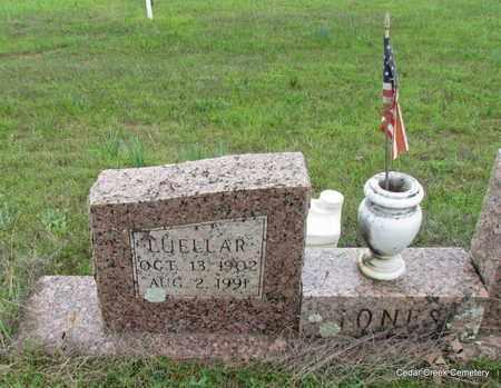 JONES, LUELLAR (CLOSE UP) - Conway County, Arkansas | LUELLAR (CLOSE UP) JONES - Arkansas Gravestone Photos