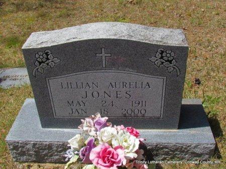 JONES, LILLIAN AURELIA - Conway County, Arkansas | LILLIAN AURELIA JONES - Arkansas Gravestone Photos