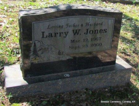 JONES, LARRY WAYNE - Conway County, Arkansas   LARRY WAYNE JONES - Arkansas Gravestone Photos