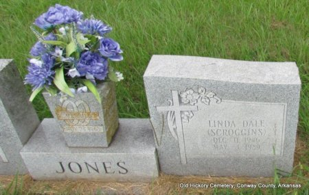 JONES, LINDA DALE (CLOSE UP) - Conway County, Arkansas | LINDA DALE (CLOSE UP) JONES - Arkansas Gravestone Photos