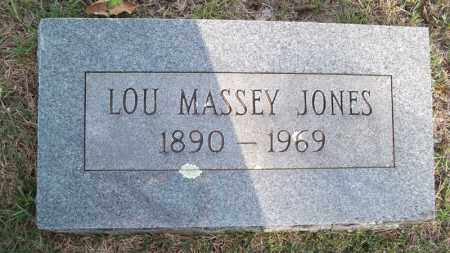 JONES, LOU - Conway County, Arkansas | LOU JONES - Arkansas Gravestone Photos