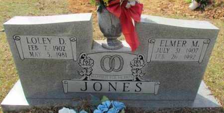 JONES, ELMER M - Conway County, Arkansas | ELMER M JONES - Arkansas Gravestone Photos