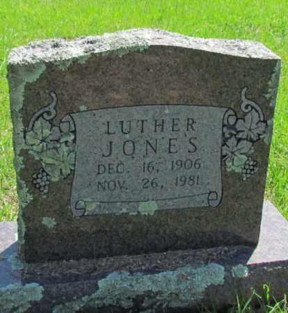 JONES, LUTHER - Conway County, Arkansas | LUTHER JONES - Arkansas Gravestone Photos
