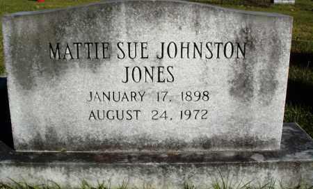 JONES, MATTIE SUE - Conway County, Arkansas   MATTIE SUE JONES - Arkansas Gravestone Photos
