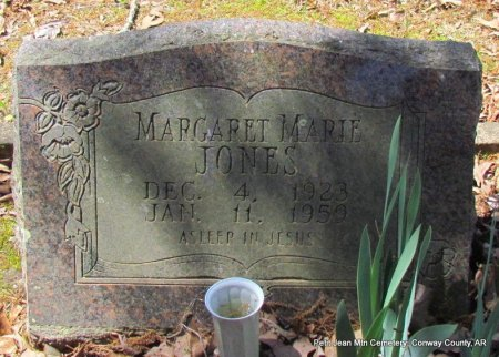 JONES, MARGARET MARIE - Conway County, Arkansas | MARGARET MARIE JONES - Arkansas Gravestone Photos