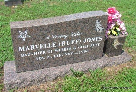JONES, MARVELLE - Conway County, Arkansas | MARVELLE JONES - Arkansas Gravestone Photos