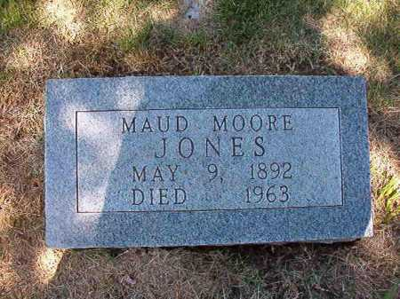 JONES, MAUD MOORE - Conway County, Arkansas | MAUD MOORE JONES - Arkansas Gravestone Photos