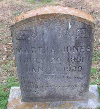 JONES, MARTHA A. - Conway County, Arkansas | MARTHA A. JONES - Arkansas Gravestone Photos
