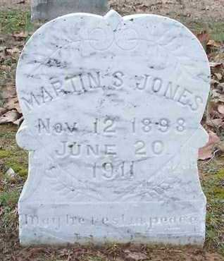 JONES, MARTIN S - Conway County, Arkansas | MARTIN S JONES - Arkansas Gravestone Photos
