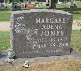 JONES, MARGARET ADENA - Conway County, Arkansas   MARGARET ADENA JONES - Arkansas Gravestone Photos