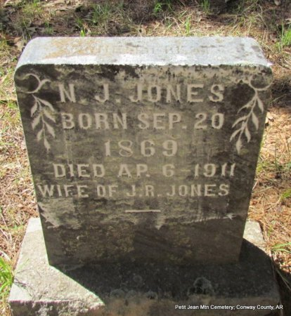 JONES, NANCY JANE - Conway County, Arkansas | NANCY JANE JONES - Arkansas Gravestone Photos