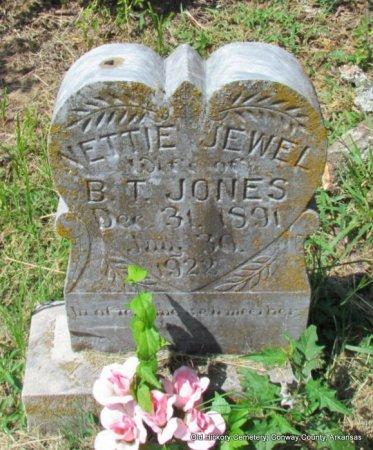 JONES, NETTIE JEWEL - Conway County, Arkansas | NETTIE JEWEL JONES - Arkansas Gravestone Photos