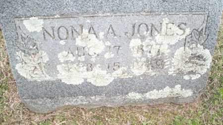 JONES, NONA A - Conway County, Arkansas | NONA A JONES - Arkansas Gravestone Photos