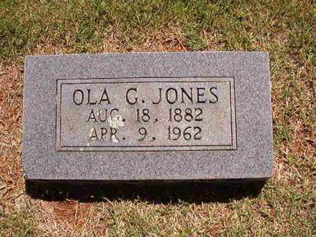 JONES, OLA G - Conway County, Arkansas | OLA G JONES - Arkansas Gravestone Photos