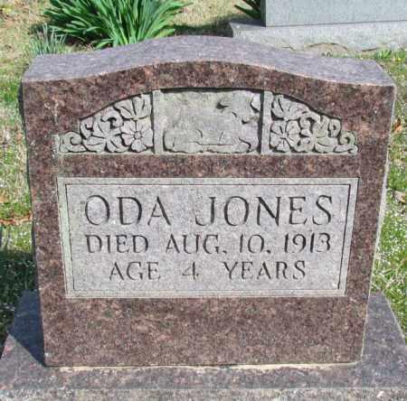 JONES, ODA - Conway County, Arkansas | ODA JONES - Arkansas Gravestone Photos