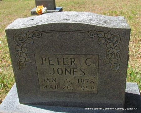 JONES, PETER C - Conway County, Arkansas   PETER C JONES - Arkansas Gravestone Photos