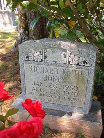 JONES, RICHARD KEITH - Conway County, Arkansas | RICHARD KEITH JONES - Arkansas Gravestone Photos