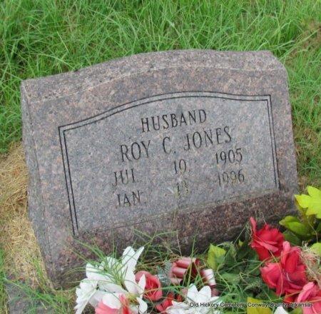 JONES, ROY C - Conway County, Arkansas | ROY C JONES - Arkansas Gravestone Photos