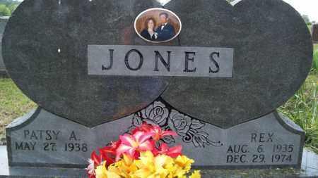 JONES, REX - Conway County, Arkansas | REX JONES - Arkansas Gravestone Photos