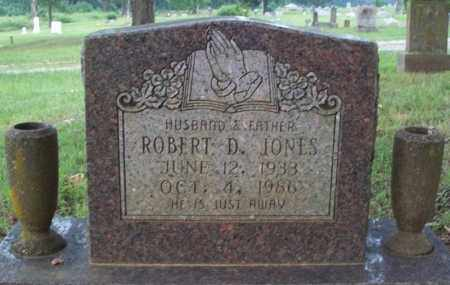 JONES, ROBERT D - Conway County, Arkansas | ROBERT D JONES - Arkansas Gravestone Photos