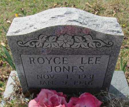 JONES, ROYCE LEE - Conway County, Arkansas | ROYCE LEE JONES - Arkansas Gravestone Photos