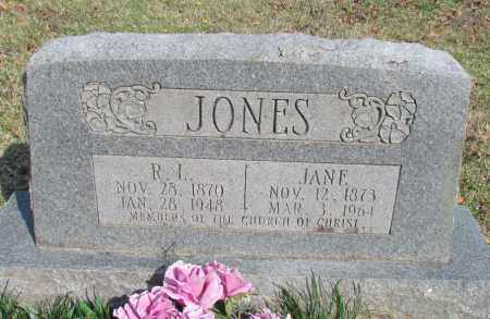 JONES, R L - Conway County, Arkansas | R L JONES - Arkansas Gravestone Photos