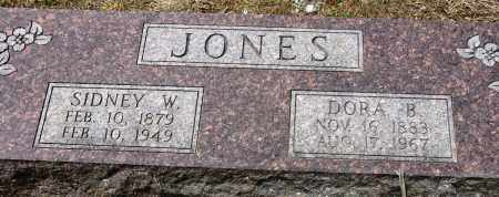 JONES, SIDNEY W - Conway County, Arkansas | SIDNEY W JONES - Arkansas Gravestone Photos