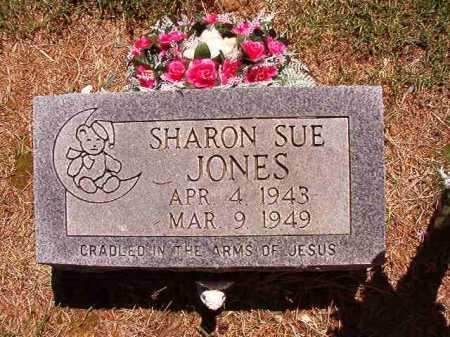 JONES, SHARON SUE - Conway County, Arkansas | SHARON SUE JONES - Arkansas Gravestone Photos