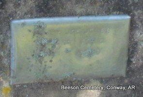 JONES, UNKNOWN - Conway County, Arkansas   UNKNOWN JONES - Arkansas Gravestone Photos