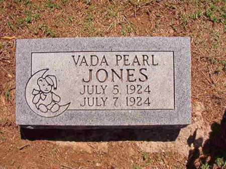 JONES, VADA PEARL - Conway County, Arkansas   VADA PEARL JONES - Arkansas Gravestone Photos