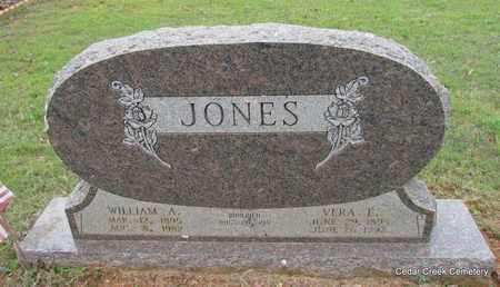 JONES, VERA E - Conway County, Arkansas | VERA E JONES - Arkansas Gravestone Photos