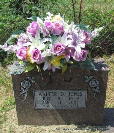 JONES, WALTER O - Conway County, Arkansas | WALTER O JONES - Arkansas Gravestone Photos