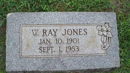 JONES, W RAY - Conway County, Arkansas   W RAY JONES - Arkansas Gravestone Photos