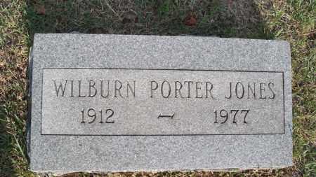 JONES, WILBURN PORTER - Conway County, Arkansas   WILBURN PORTER JONES - Arkansas Gravestone Photos