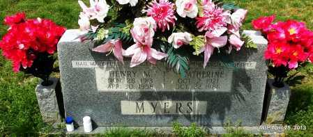BECK MYERS, CATHERINE EMMA - Conway County, Arkansas | CATHERINE EMMA BECK MYERS - Arkansas Gravestone Photos
