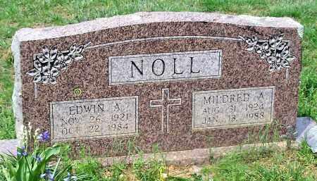 NOLL, EDWIN A - Conway County, Arkansas | EDWIN A NOLL - Arkansas Gravestone Photos