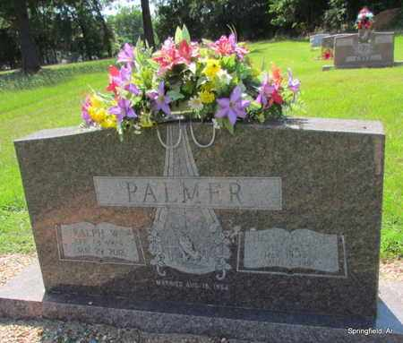 PALMER, RALPH W - Conway County, Arkansas | RALPH W PALMER - Arkansas Gravestone Photos
