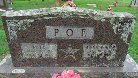 PORTER POE, MINNIE - Conway County, Arkansas   MINNIE PORTER POE - Arkansas Gravestone Photos