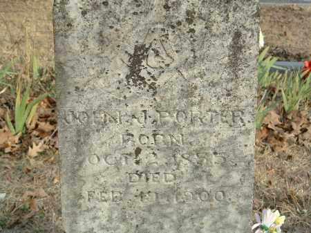 PORTER, JOHN J. - Conway County, Arkansas | JOHN J. PORTER - Arkansas Gravestone Photos