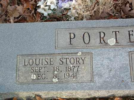 PORTER, LOUISE - Conway County, Arkansas | LOUISE PORTER - Arkansas Gravestone Photos